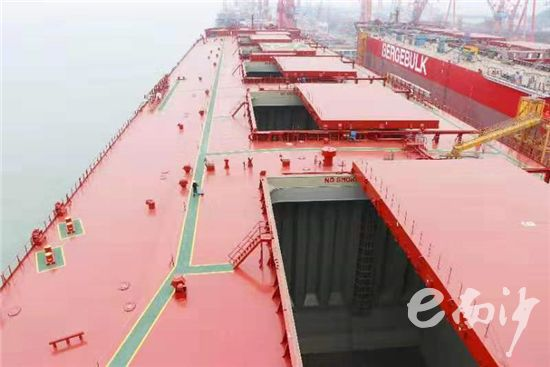 South China's largest bulk cargo ship delivered to